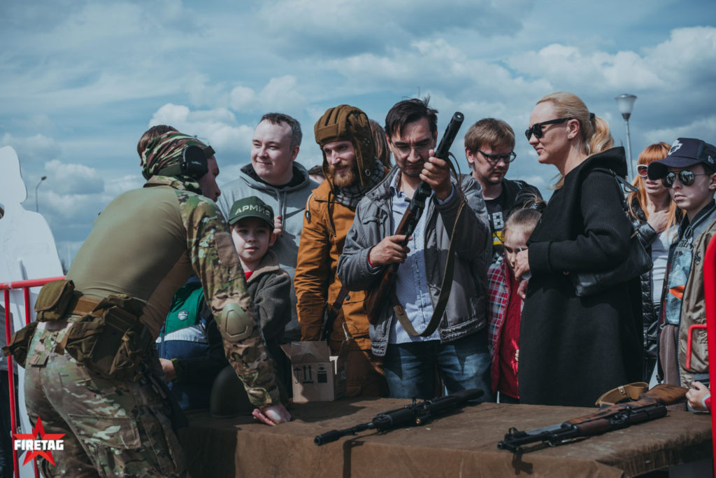 День танкиста в Парке Патриот