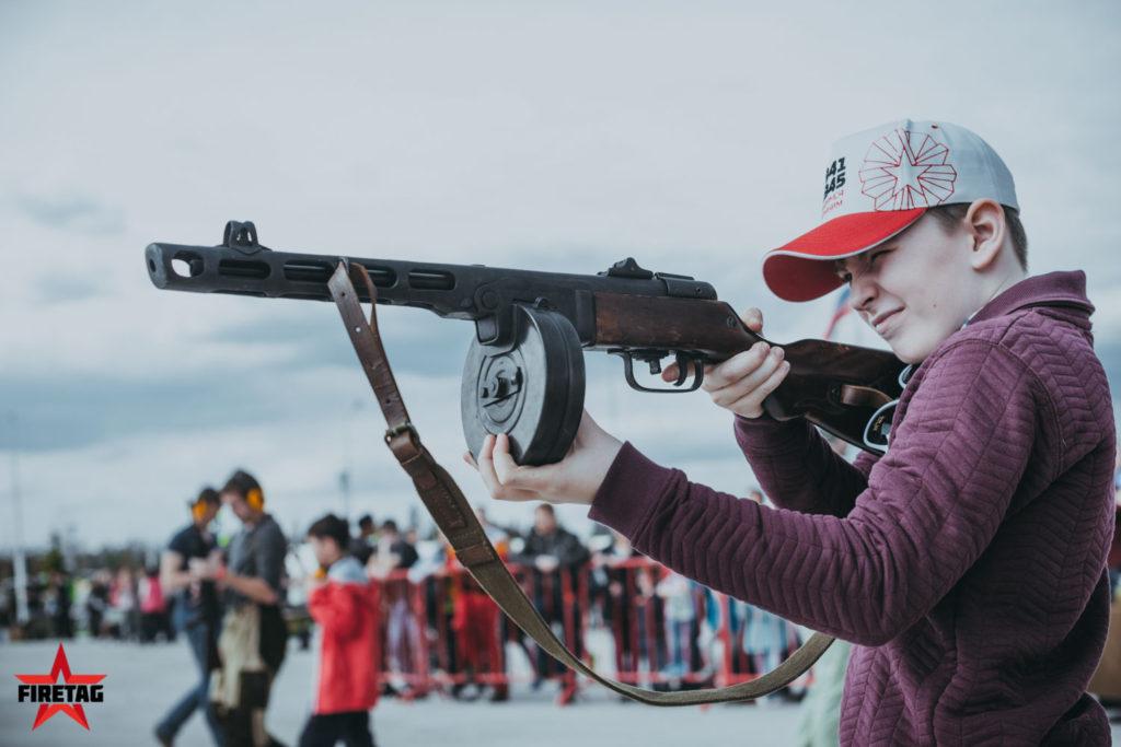 ППШ - легендарный пистолет-пулемет Шпагина #ППШ