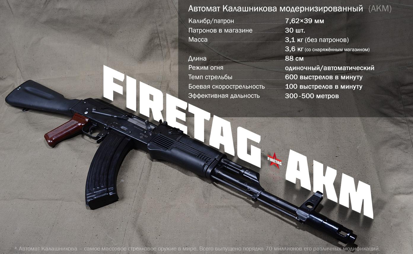 АКМ оружие в игре Фаертаг