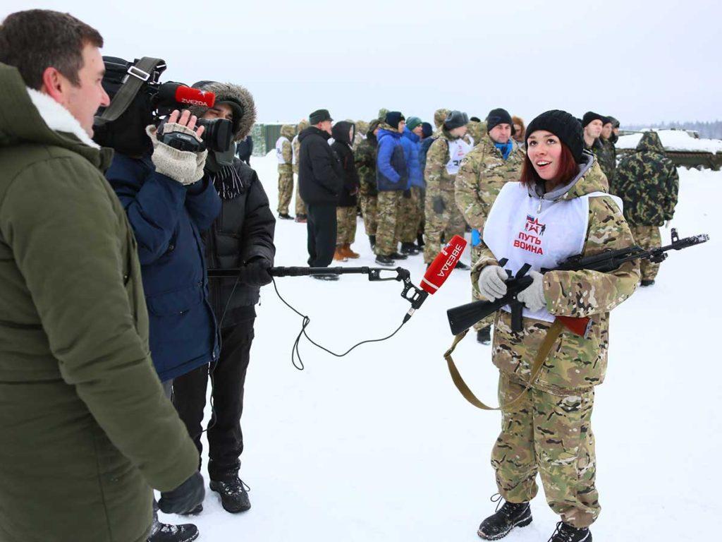Телеканалы «Звезда» и «360 Подмосковье» интервью о Фаертаге