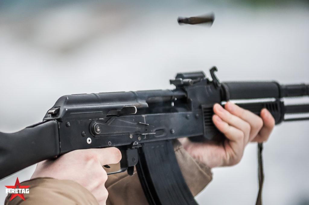 стрельба из АК системы фаертаг