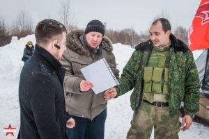 Отржественное награждение на Открытие площадки для проведения военно-патриотических мероприятий для молодежи в Южном Бутово