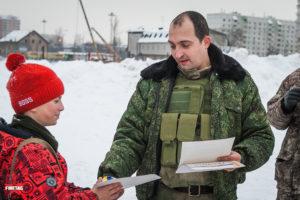 Торжественное награждение на Открытие площадки для проведения военно-патриотических мероприятий для молодежи