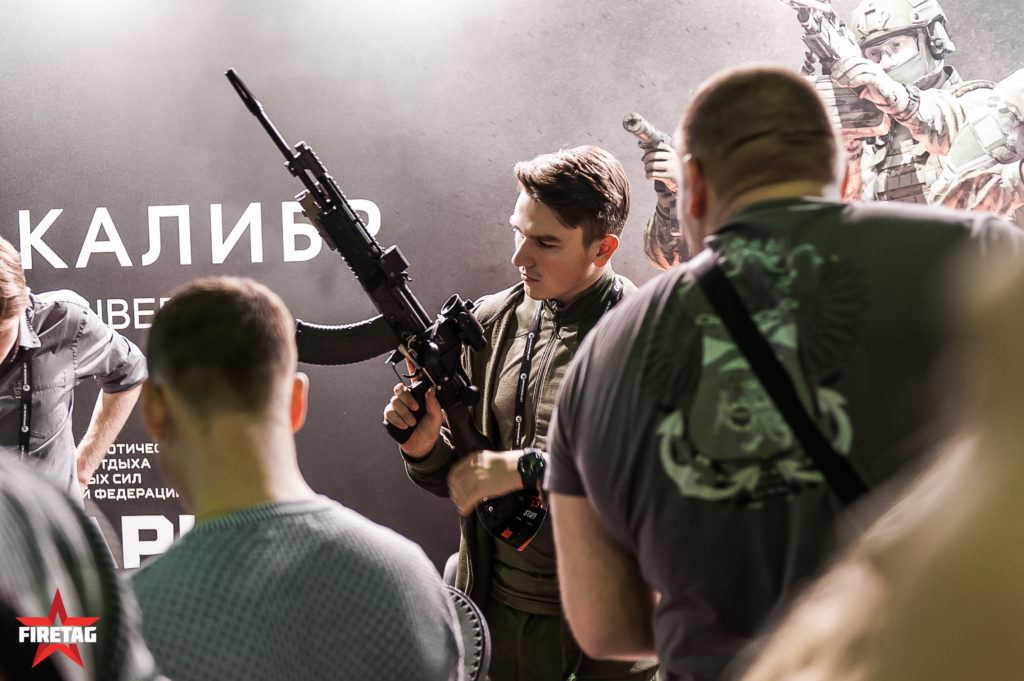 Тюнингованный АК-74
