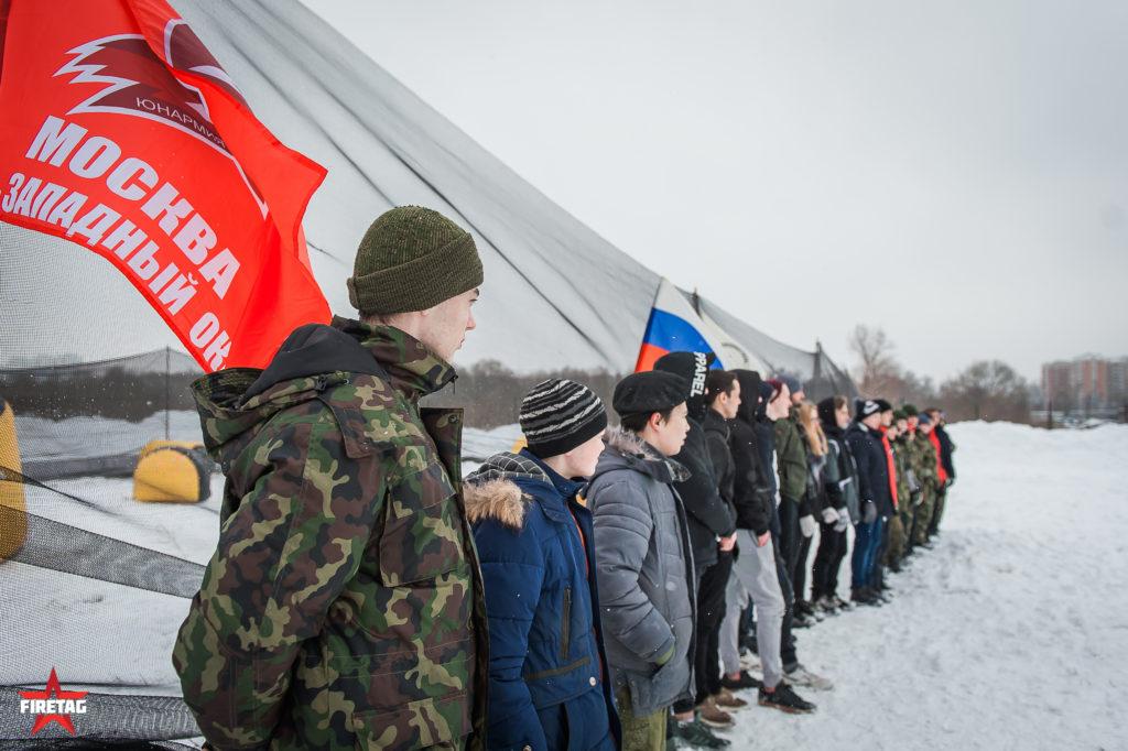 Открытие площадки для проведения военно-патриотических мероприятий для молодежи в Южном Бутово