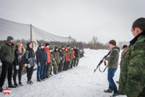 Инструктаж на Открытие площадки для проведения военно-патриотических мероприятий для молодежи в Южном Бутово