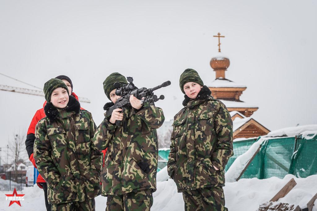 юнармейцы со снайперским РПК