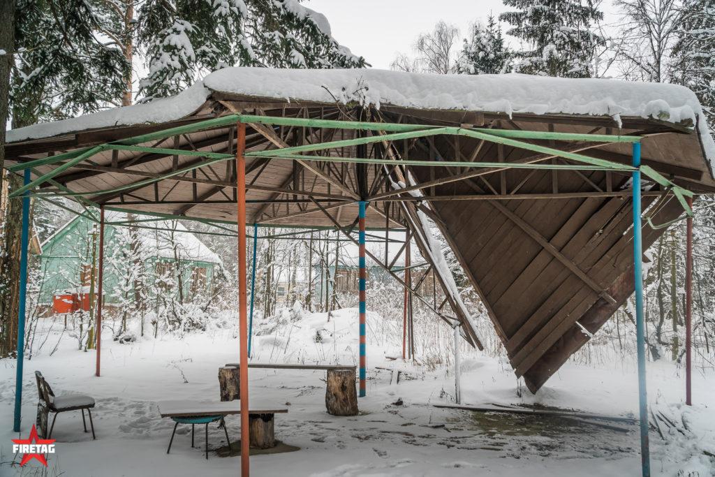 Площадка для Фаертаг игр в оздоровительном санатории «Энергия» МЭИ