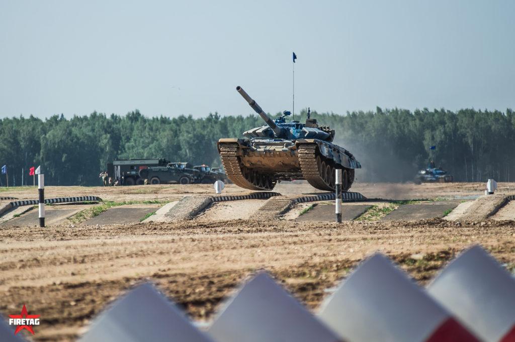 фаертаг firetag на танковом биатлоне