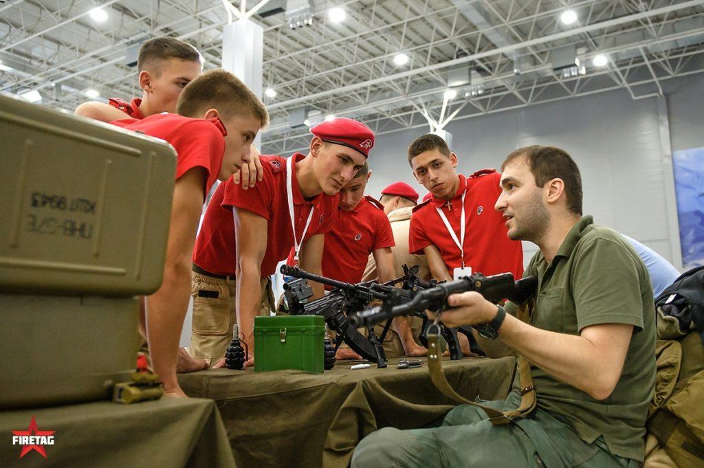 Фаертаг проводит военно-спортивную игру «Победа-2018»