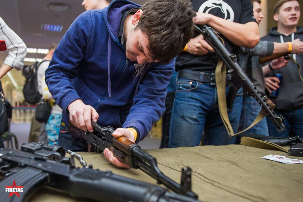 Сборка-разборка оружия WG FEST 2018