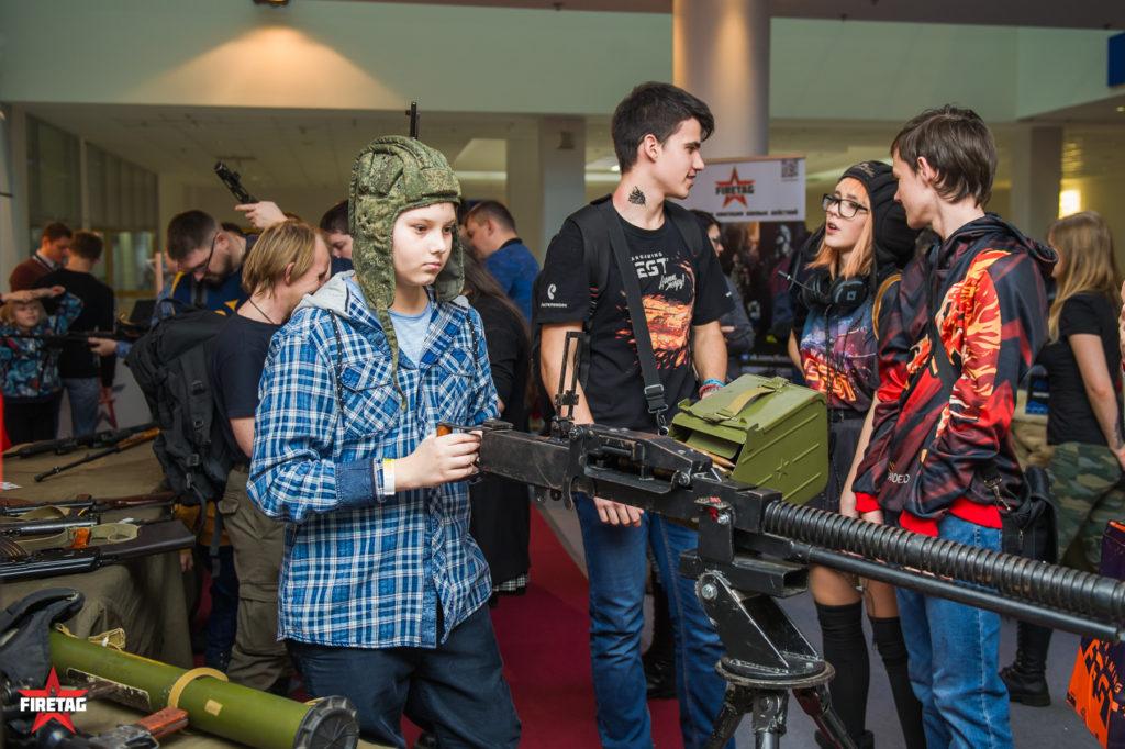 Крупнокалиберный ДШК на WG FEST 2018