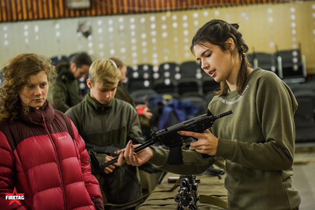 кедр в интерактивном музее оружия