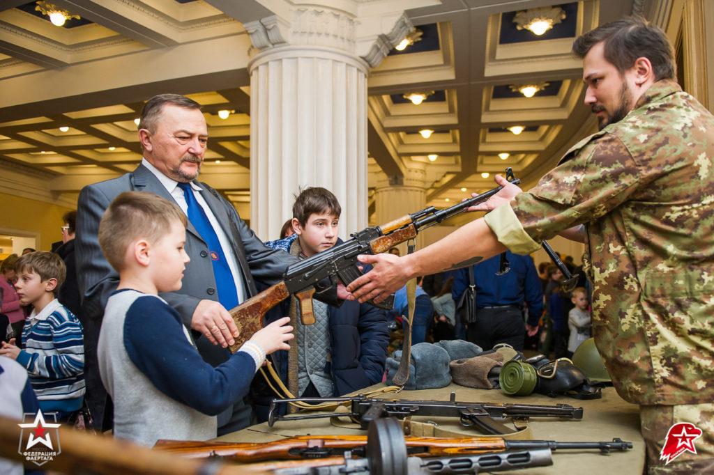 Музей оружия в Театре Российской армии