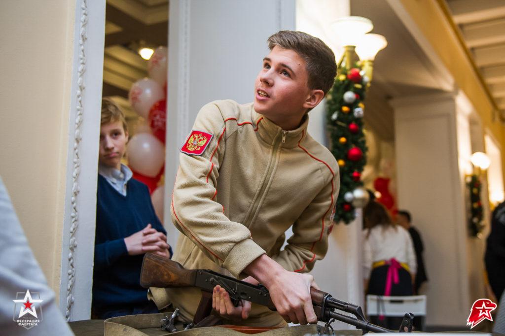 Сборка-разборка оружия на время