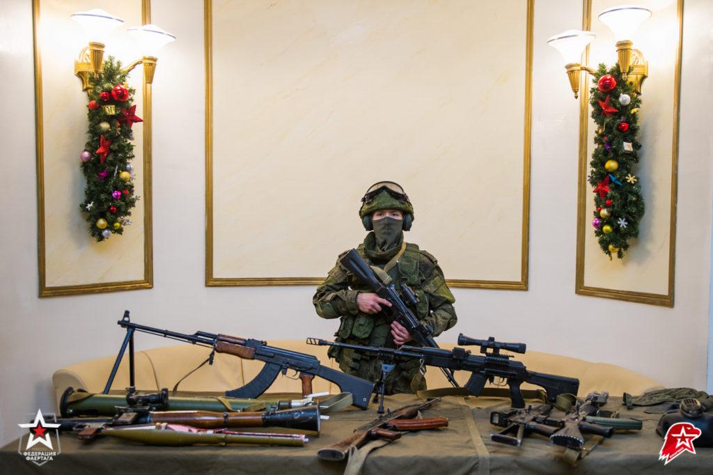 Новогодняя ёлка в театре Российской армии для Юнармейцев от Федерации Фаертаг