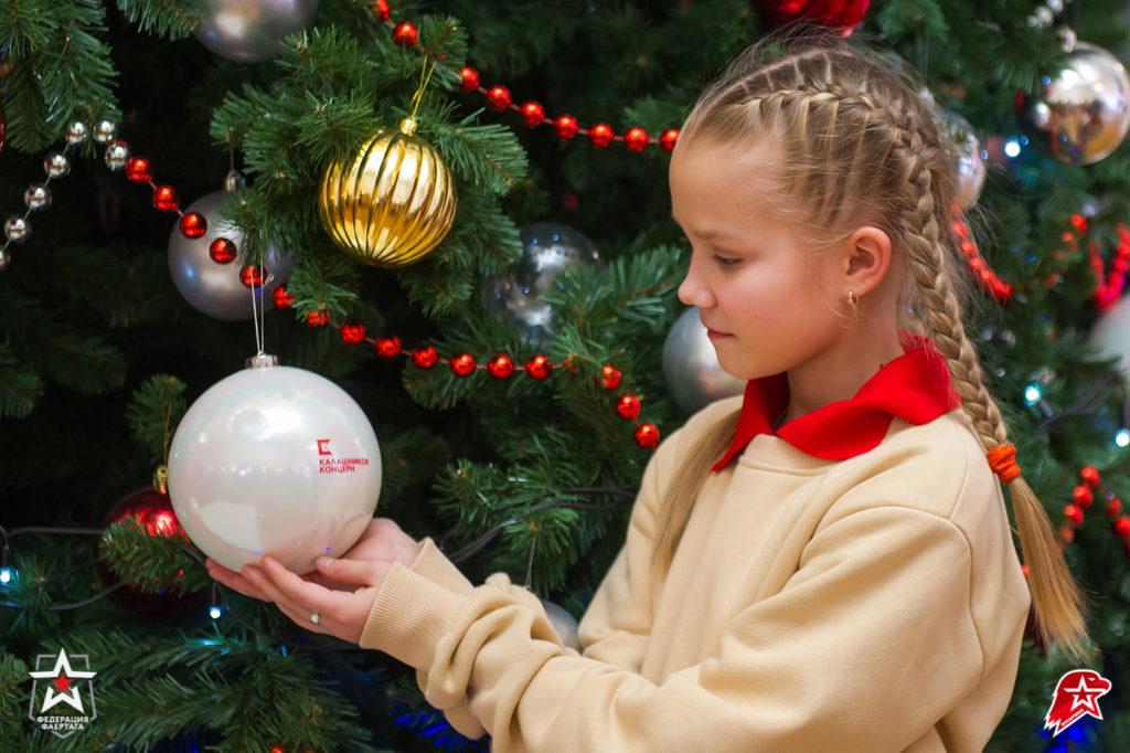 Новогодние шары от Калашникова