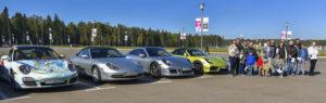 корпоратив Porsche Club Moscow