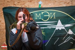 Студентка МЭИ с гранатометом