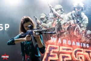 инфостенд от фаертага на Wargaming FEST 2017