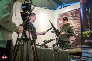 СМИ на выставке Выстрел