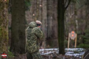 стрельба по мишеням с датчиками