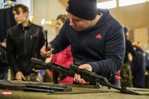 сборка разборка АК в выездном интерактивном музее оружия