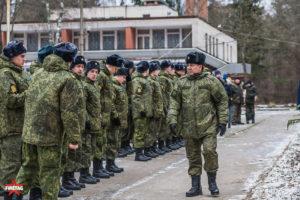 Смотр построения военной кафедры МЭИ