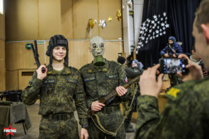 фототочка интерактивного музея оружия